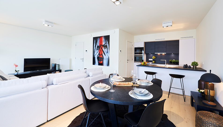 Nautilus appartments Anderlecht, interior